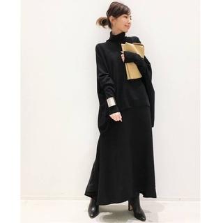 L'Appartement DEUXIEME CLASSE - アパルトモン☆T/N Volume Knit 新品ブラック