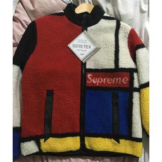 シュプリーム(Supreme)のS supreme リバーシブル フリース ジャケット ゴアテックス 新品タグ付(ブルゾン)