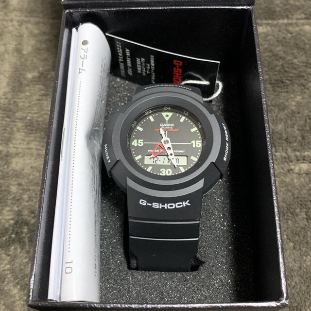 G-SHOCK(ジーショック)のCASIO カシオ G-SHOCK AW-500E-1EJF メンズの時計(腕時計(アナログ))の商品写真