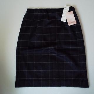 シマムラ(しまむら)のしまむら チェックシャギースカート(ひざ丈スカート)