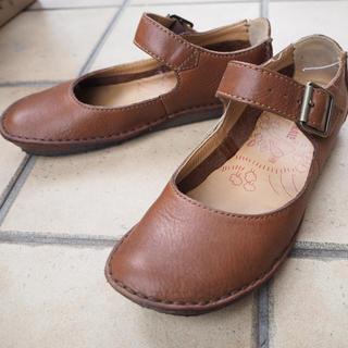 クラークス(Clarks)のClarks♡美品レザーフラットシューズ(ローファー/革靴)
