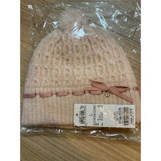 TOCCA - トッカバンビーニニット帽ピンクL5253545556