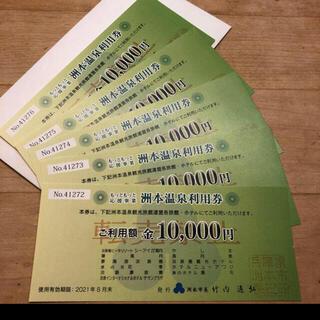 洲本温泉利用券6万円分(宿泊券)
