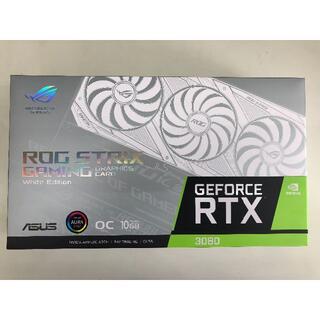 エイスース(ASUS)の新品未開封品 ROG-STRIX-RTX3080-O10G-WHITE(PCパーツ)