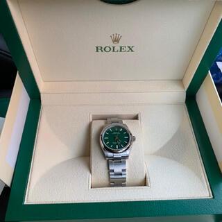 ROLEX - 早い者勝ち オイスターパーペチュアル 31 グリーン 277200