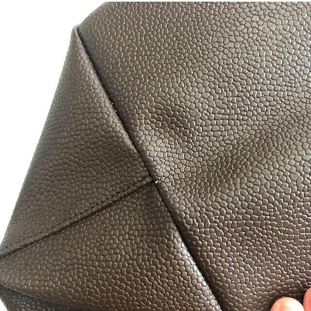 Herve Chapelier(エルベシャプリエ)の新品 エルベシャプリエ モカ×モカ GP レディースのバッグ(ハンドバッグ)の商品写真