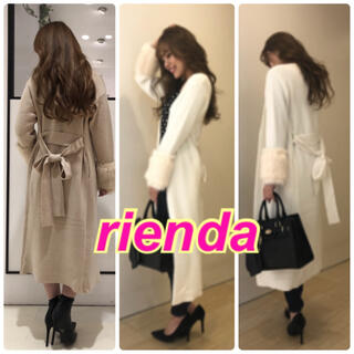rienda - 【新品】rienda★ファー★ガウン★Rady*リゼクシー*エイミーイストワール