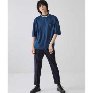 ステュディオス(STUDIOUS)の【STUDIOUS】ビッグシルエット リンガーネック ポケットT(Tシャツ/カットソー(半袖/袖なし))