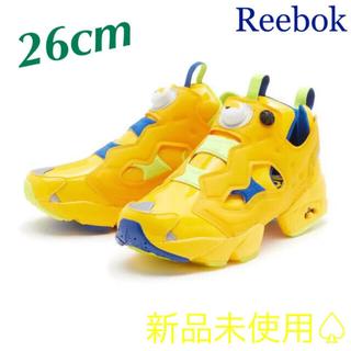 リーボック(Reebok)の【Reebok × ミニオンズ】インスタポンプフューリー コラボスニーカー(スニーカー)