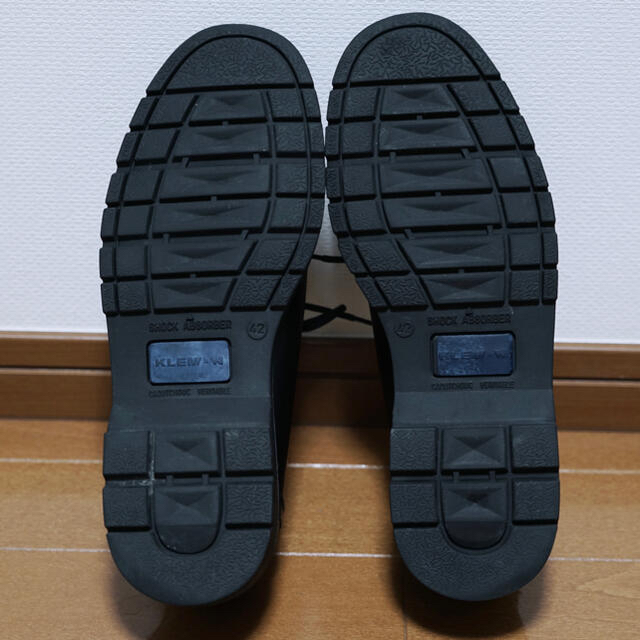 たわしさん専用 クレマン KLEMAN  PADRE レザーシューズ 42 メンズの靴/シューズ(ドレス/ビジネス)の商品写真