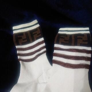 FENDI - FENDI フェンディ 本物 未使用 ソックス 靴下