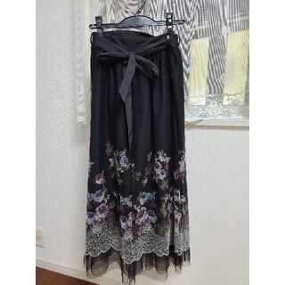 axes femme - アクシーズファムのマキシ丈スカート