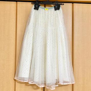 franche lippee - franchelippee  ドットチュールスカート ドットスカート