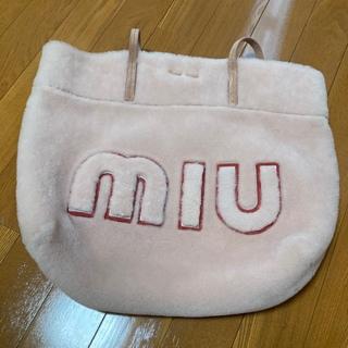 miumiu - 新品同様 ミュウミュウ ムートン バッグ