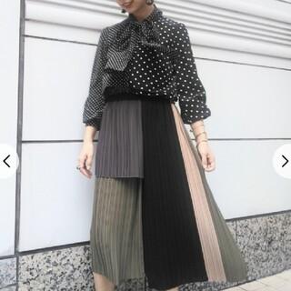 GRACE CONTINENTAL - グレースコンチネンタルタイトプリーツスカート