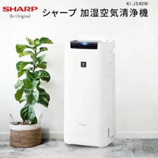 SHARP - シャープ 加湿空気清浄機 KI-JS40W