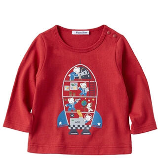 familiar - ファミリア トップス Tシャツ 長袖 100サイズ