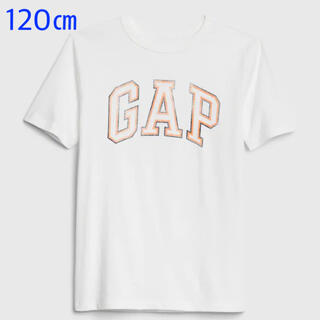 ギャップキッズ(GAP Kids)の『新品』GapKids ユニセックス ロゴ半袖Tシャツ 120㎝(その他)