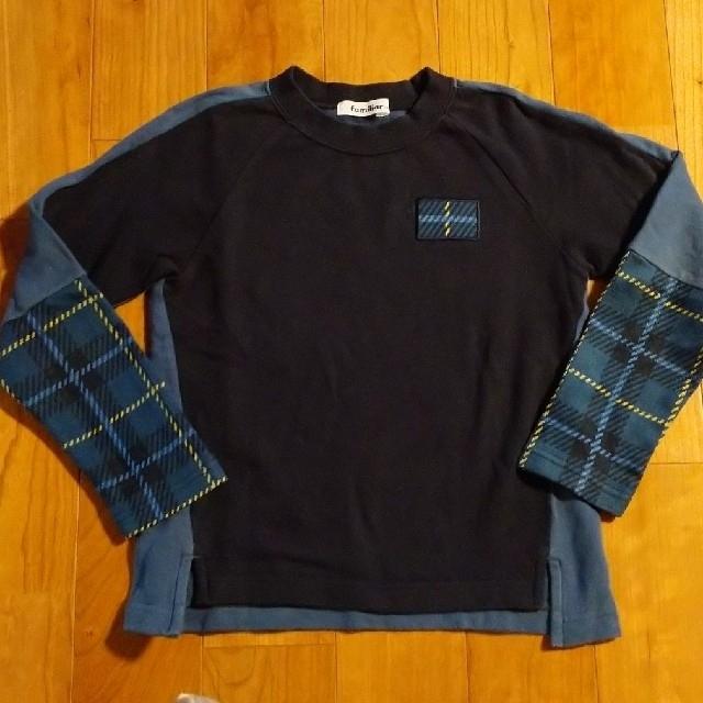familiar(ファミリア)のファミリア トップス サイズ130 キッズ/ベビー/マタニティのキッズ服男の子用(90cm~)(Tシャツ/カットソー)の商品写真