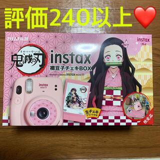 富士フイルム - instax mini11 鬼滅の刃 禰󠄀豆子チェキBOX チェキ インスタン
