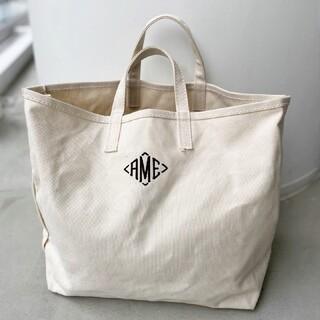 L'Appartement DEUXIEME CLASSE - AMERICANA AME Tote Bag ネイビー