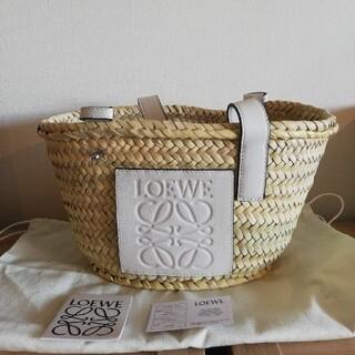LOEWE - 【新品】LOEWEロエベ バスケットかごバッグスモール 白