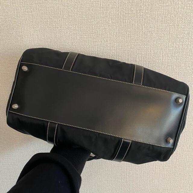PRADA(プラダ)のPRADA ナイロン バッグ 黒 ハンドバッグ ショルダーバッグ レディースのバッグ(ハンドバッグ)の商品写真