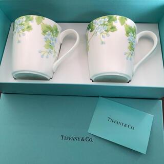Tiffany & Co. - ティファニー リーフ ペアマグカップ