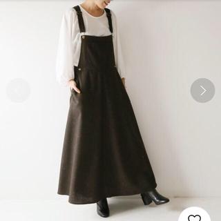 Spick and Span - MITTERNACHT ミターナット ツイードマキシジャンパースカート◆