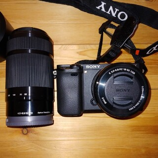 SONY - SONY α6300ILCE-6300 SELP1650 SEL55210
