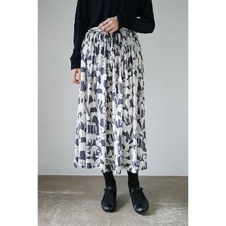 mina perhonen - 新品 ミナペルホネン life puzzle スカート
