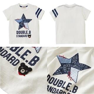 DOUBLE.B - ミキハウス ダブルビー ペイズリー Tシャツ 110