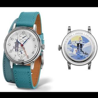 セイコー(SEIKO)の定価29000円 ムーミン腕時計 75周年限定品 MOOMIN UNDONE(腕時計)