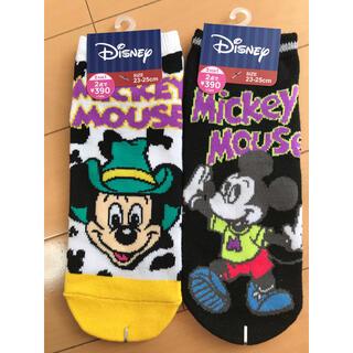 Disney - ミッキーマウス ミッキー ディズニー 靴下 23 24 25