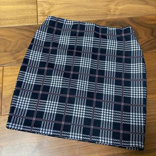 ベルシュカ(Bershka)のチェックタイトスカート♡(ミニスカート)