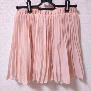 シマムラ(しまむら)の【未使用】しまむら チュールスカート 膝丈  Mサイズ 透け感(ひざ丈スカート)