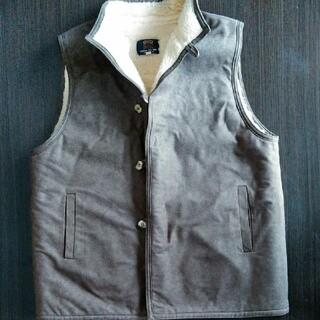 高品質ベスト 羊毛100% 日本製 Lサイズ
