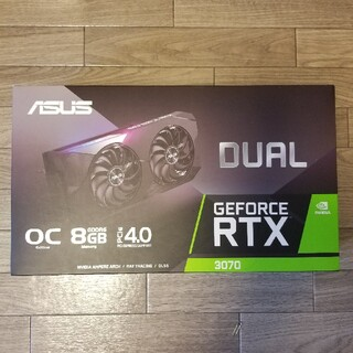 エイスース(ASUS)のAsus GEFORCE RTX3070 (PCパーツ)