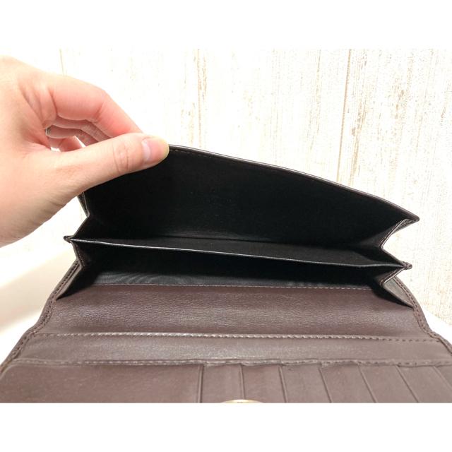 Gucci(グッチ)の【GUCCI】長財布 ブラウン メンズのファッション小物(長財布)の商品写真
