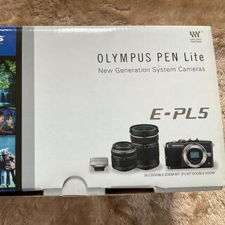 OLYMPUS - OLYMPUS ミラーレスPEN Lite E-PL5 ダブルズームキット
