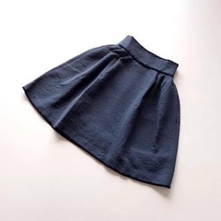 FOXEY - ■デイジーリン■ 38 黒ジャガード ベロアリボン ふんわりスカート