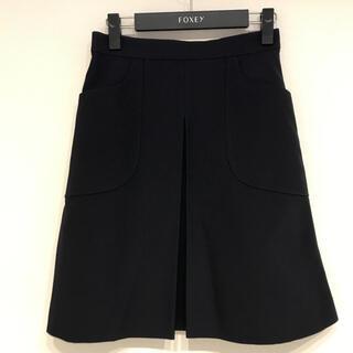 FOXEY - ◾️美品◾️ FOXEY Faille Cargo Pleated Skirt