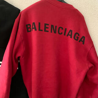 Balenciaga - バレンシアガ トレーナー 赤