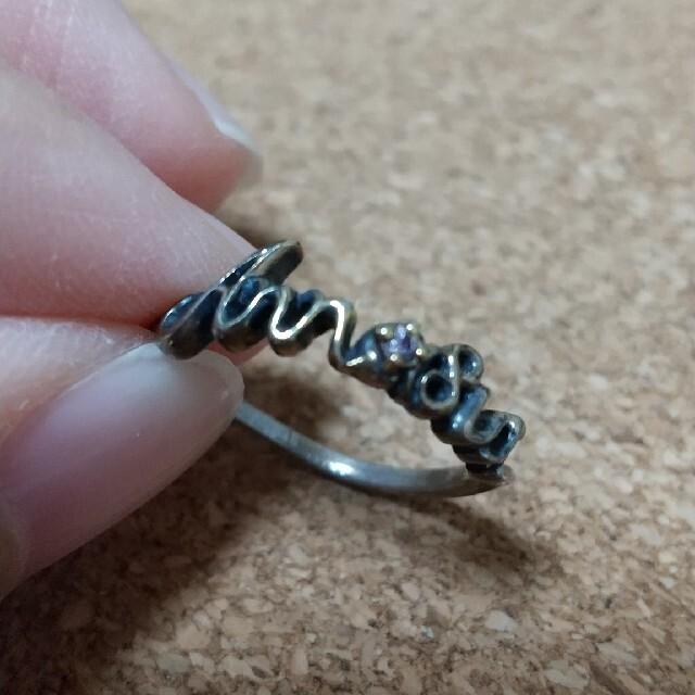 ANNA SUI(アナスイ)のANNA SUI ロゴ指輪  9号 レディースのアクセサリー(リング(指輪))の商品写真