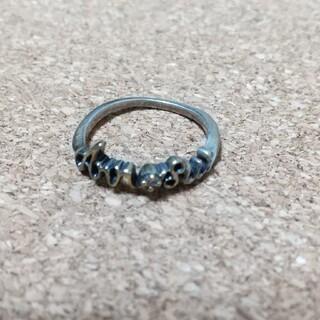 ANNA SUI - ANNA SUI ロゴ指輪  9号