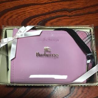 BURBERRY - バーバリー コスメポーチ&ハンカチセット 新品