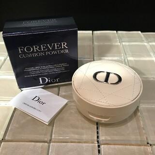 Christian Dior - Dior☆ディオールスキン☆フォーエヴァー☆クッションパウダー☆ゴールデンナイツ