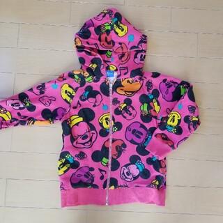 ディズニー(Disney)のTDL ミニーちゃんパーカー 140サイズ(Tシャツ/カットソー)