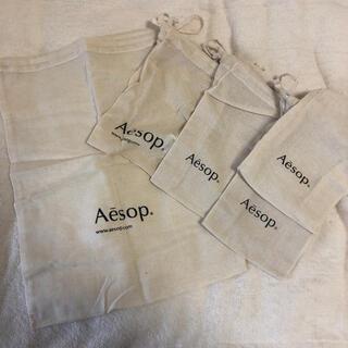 イソップ(Aesop)のAesop巾着(ショップ袋)