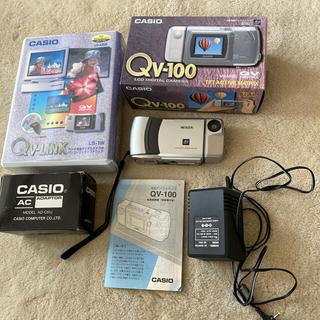 カシオ(CASIO)のCASIO カシオ QV-100 +リンクソフト(コンパクトデジタルカメラ)